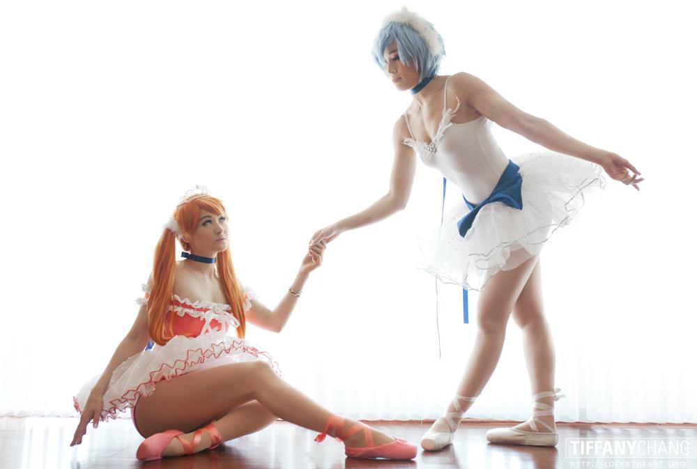 Ballerinas - Neon Genesis Evangelion by Mostflogged