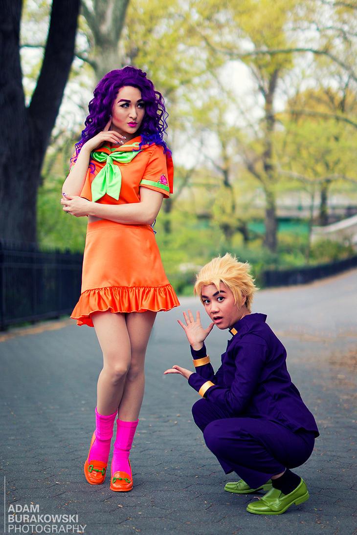 Yukako and Koichi - JJBA by Mostflogged