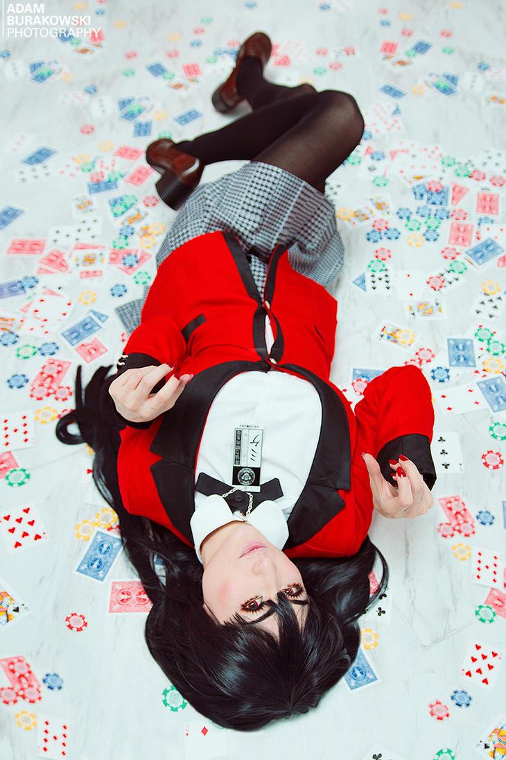 YUMEKO JABAMI - KAKEGURUI by Mostflogged
