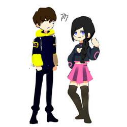 Eboy and Egirl Designs