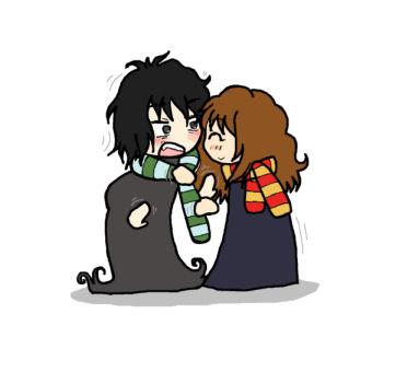 Snape and Hermione 2 by BakaMokona