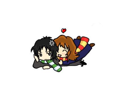 Snape and Hermione 3 by BakaMokona