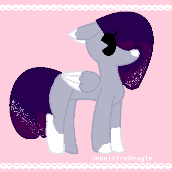 [Adoptable #10] MilkyWay Pony Adopt by JennifireBeagle