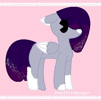 [Adoptable #10] MilkyWay Pony Adopt by JennifireBeagle