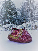 Snow and basket by WeepingGrove