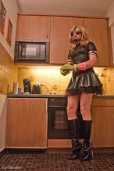 Kitchen Maid by harrietcd