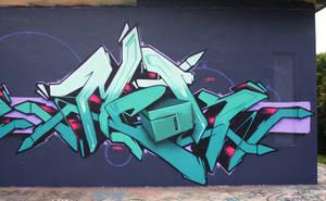 Meak 3D letter. by meak-one