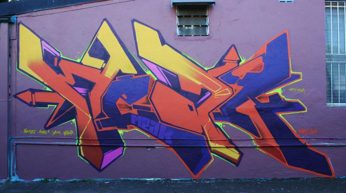 Meak Purple Orange by meak-one