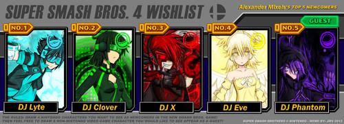 DJ Super Smash Bros Wishlist by alexandersupremo