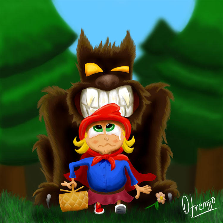 Little Red Riding Hood Little by ofrango