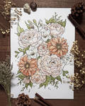 Bouquet (commission) v2 by Velkah-art