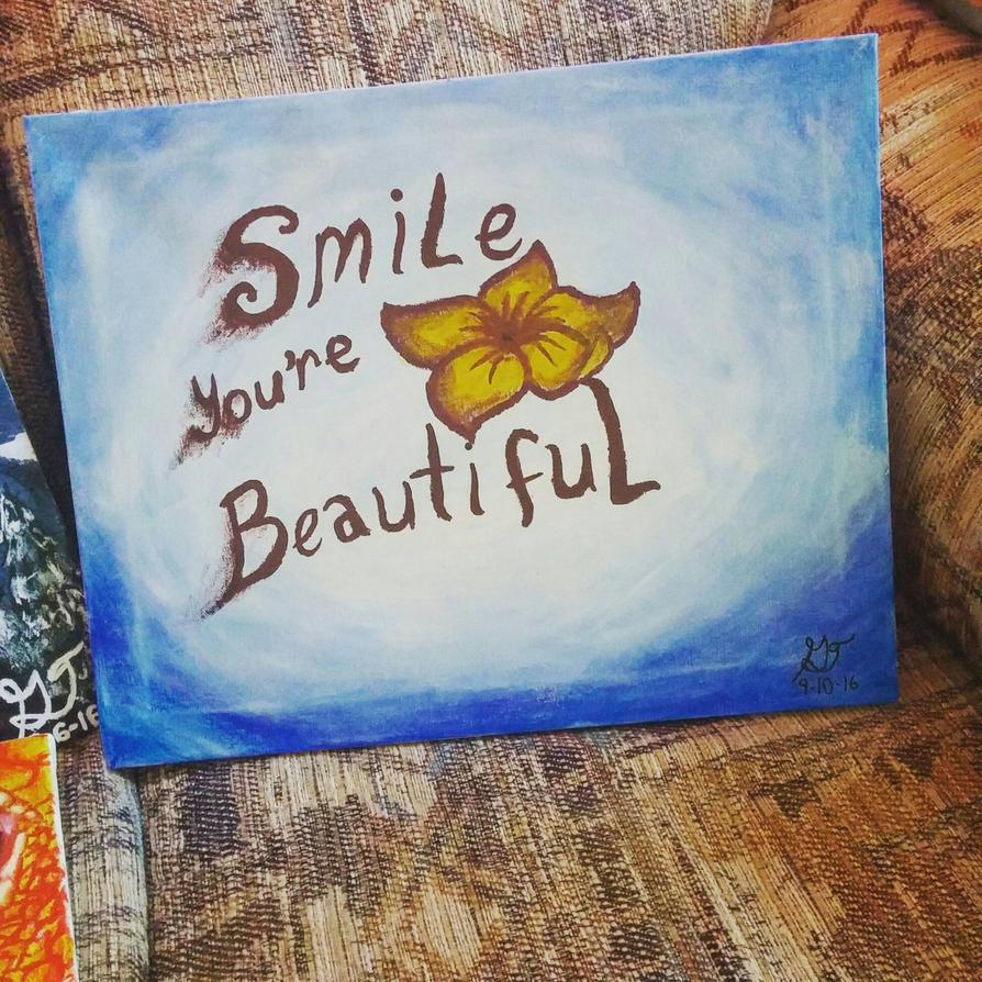Smile Painting by xXSilvrTheShipprXx