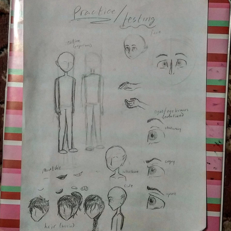 Drawing Practice/Testing by xXSilvrTheShipprXx