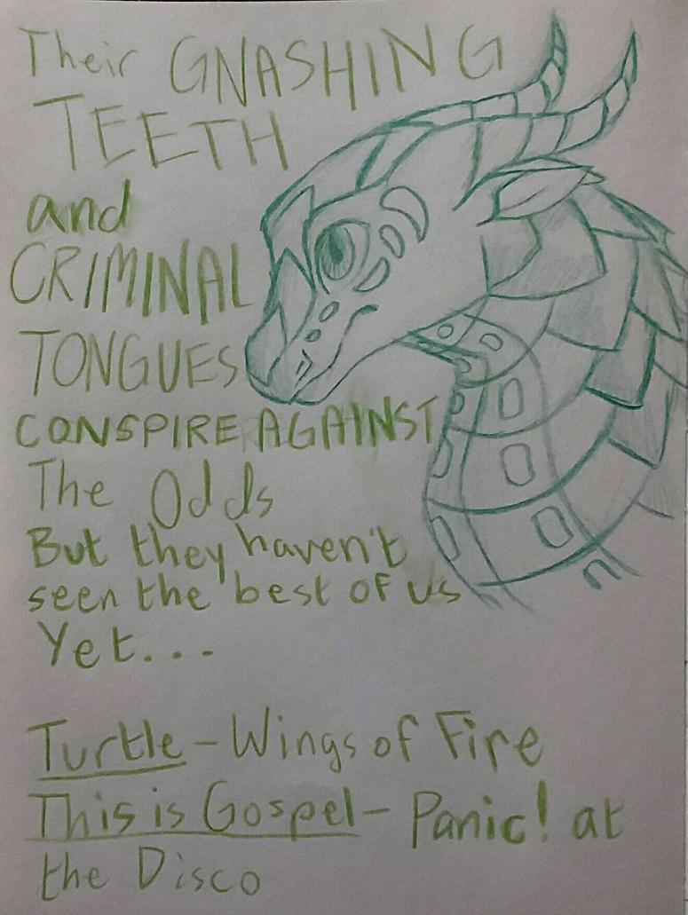 Turtle - This is Gospel by xXSilvrTheShipprXx