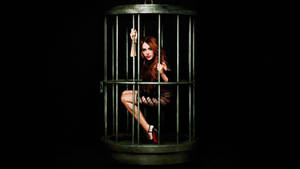 Caged Miley
