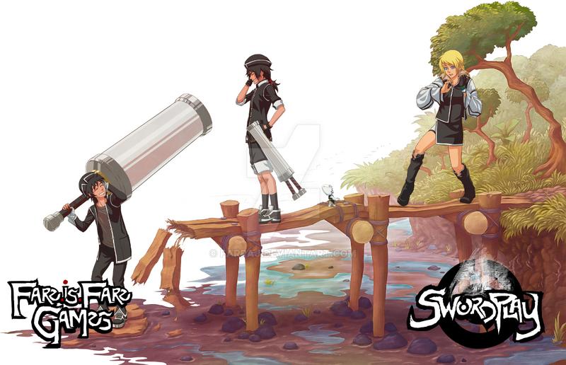 Project SwordPlay: Character lineup by Farraj