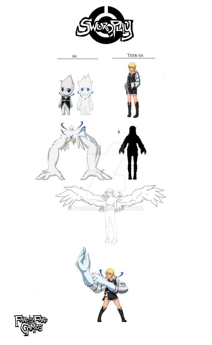 Project SwordPlay: Character intro - Teersa and Mi by Farraj