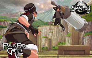 Project SwordPlay: illustration - Sparing