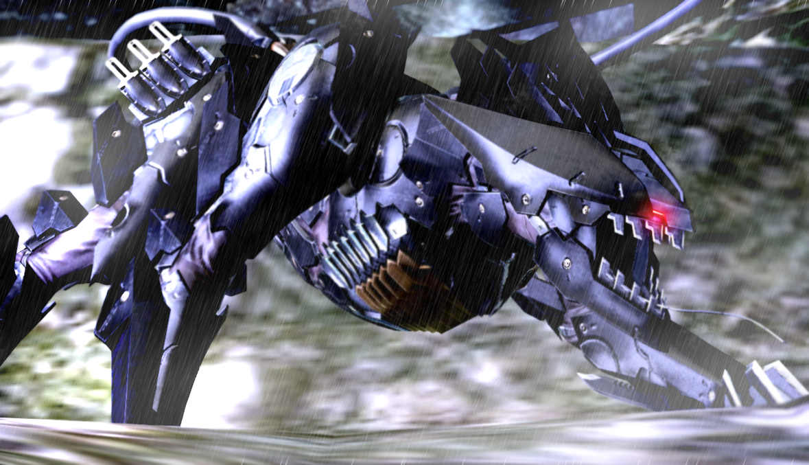 Bladewolf - Metal Gear Rising Revengeance - por perro The_bladewolf_by_thediddlez-d687p9o