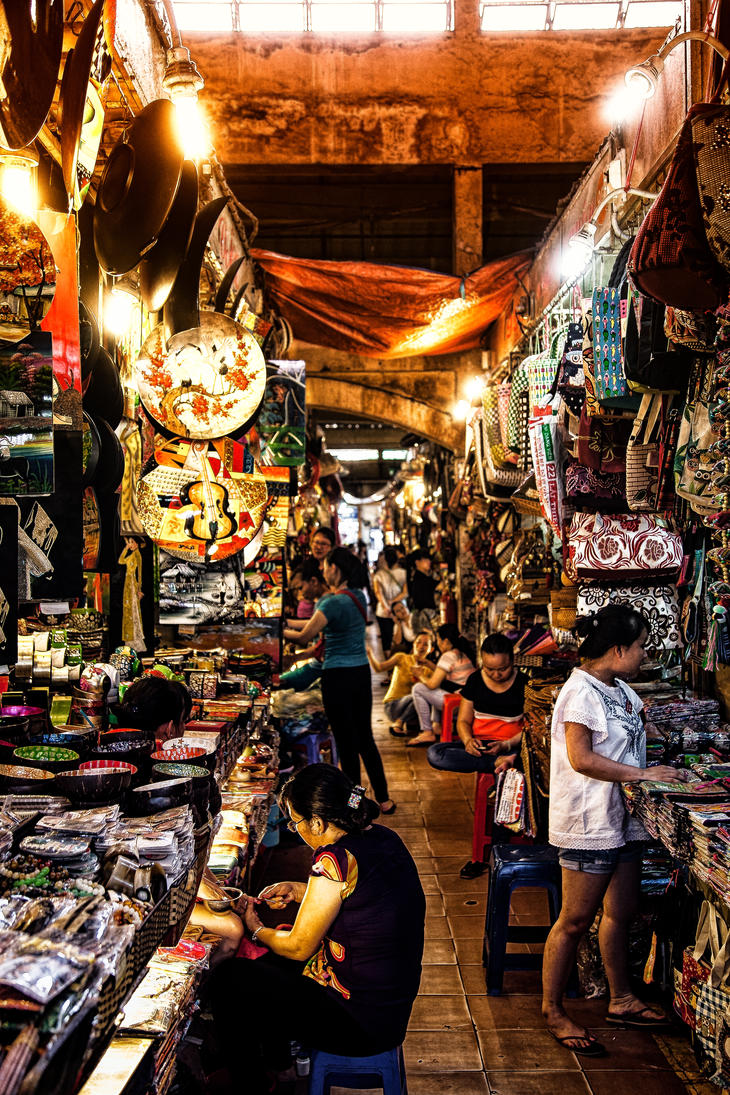 Ben Thanh Market by Lad2-0