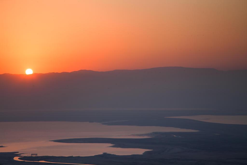 Dead sea from Massada by Lad2-0