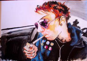 frank iero by xnightmares-exist