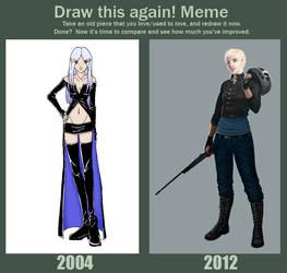 Improvement Meme by chlorinesea
