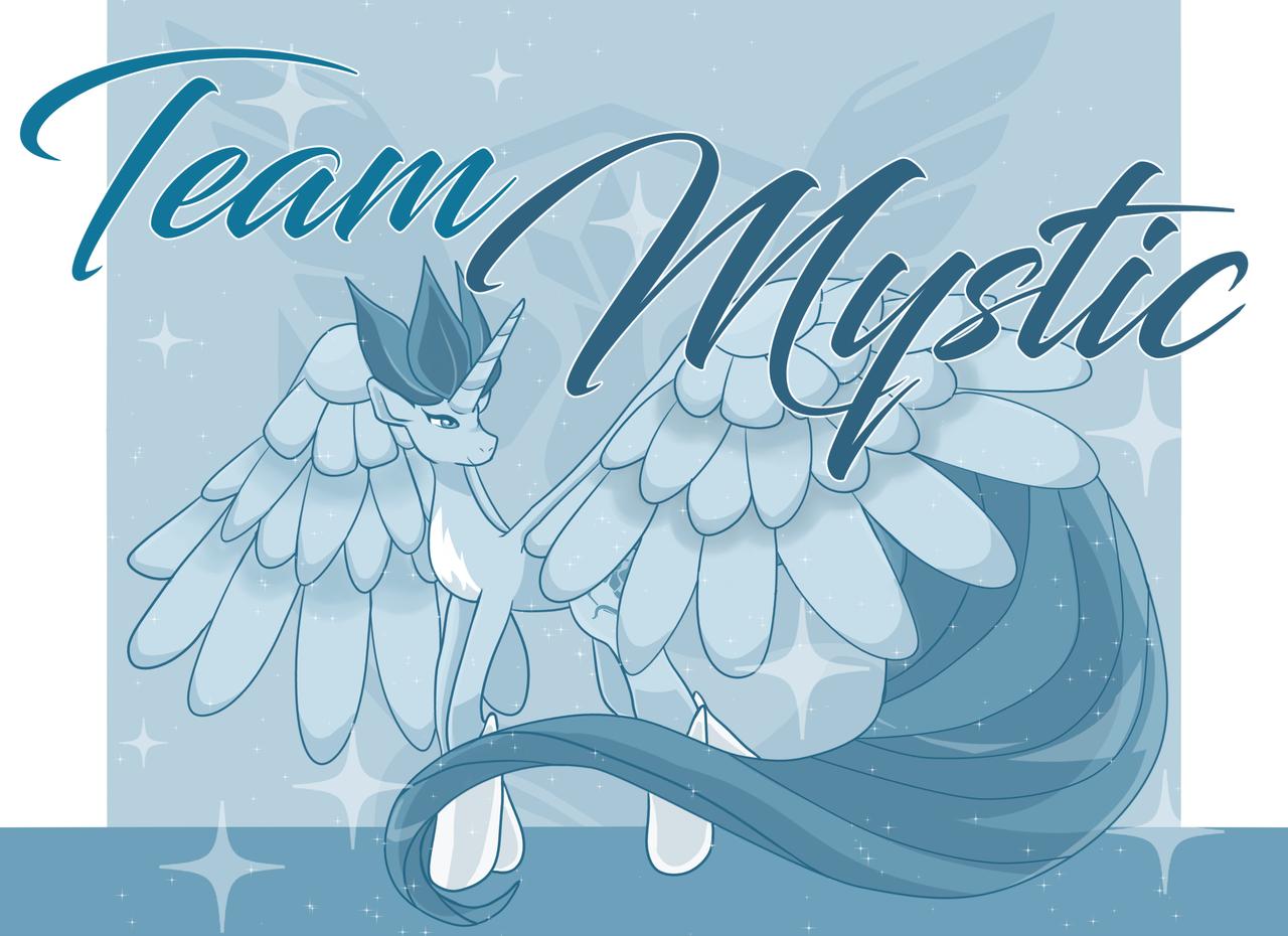 Team Mystic by michielynn