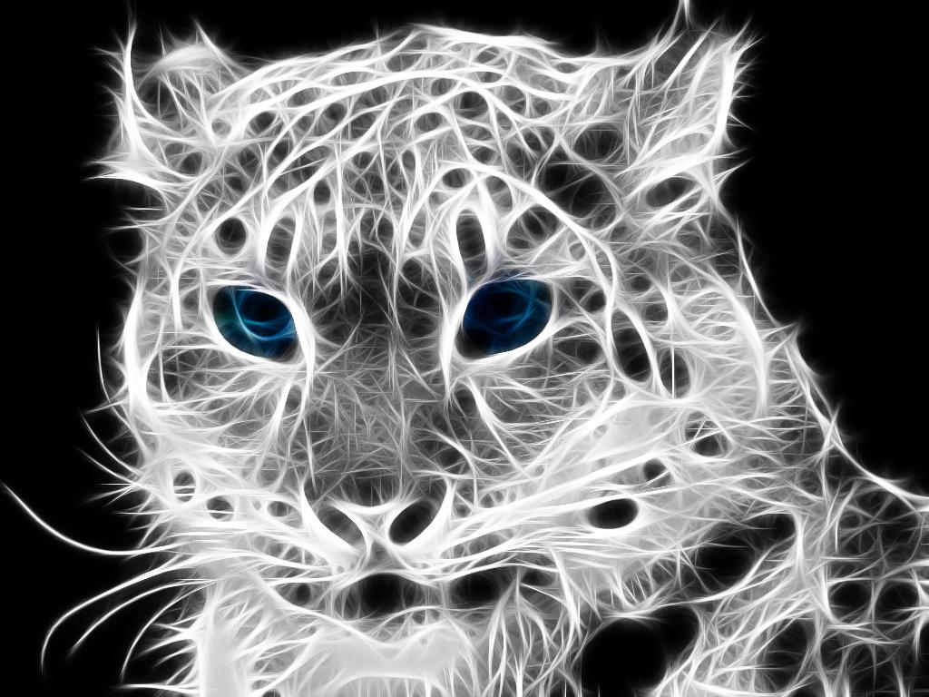snow leopard Fractalius by Carito93