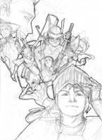 Deadliest Warriors by EmCaCo
