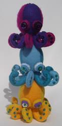 Octopus Ice Cream by SuperFlee