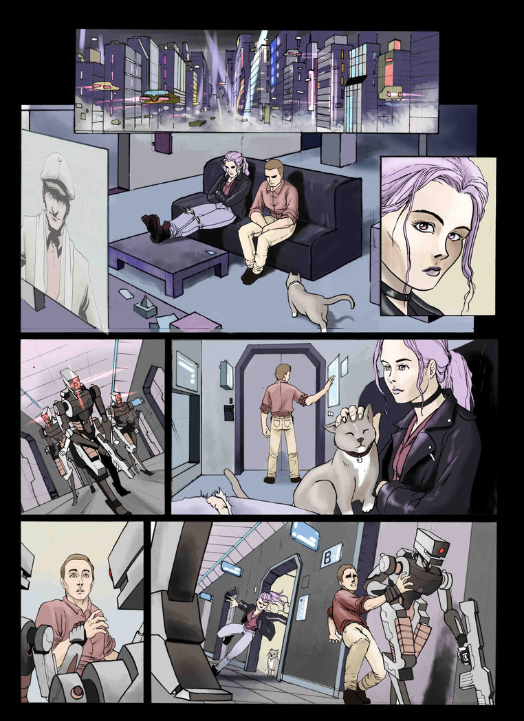 Anomaly Page 1 ligero by Nerirearte