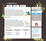 GIMP: blog theme tutorial