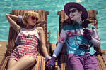 Colossalcon Joker and Harley, ArtistAbe design