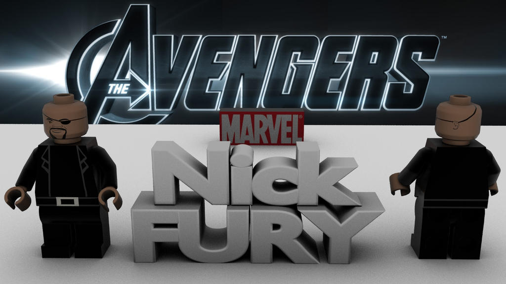 Lego Avengers Nick Fury by happyness972 on DeviantArt