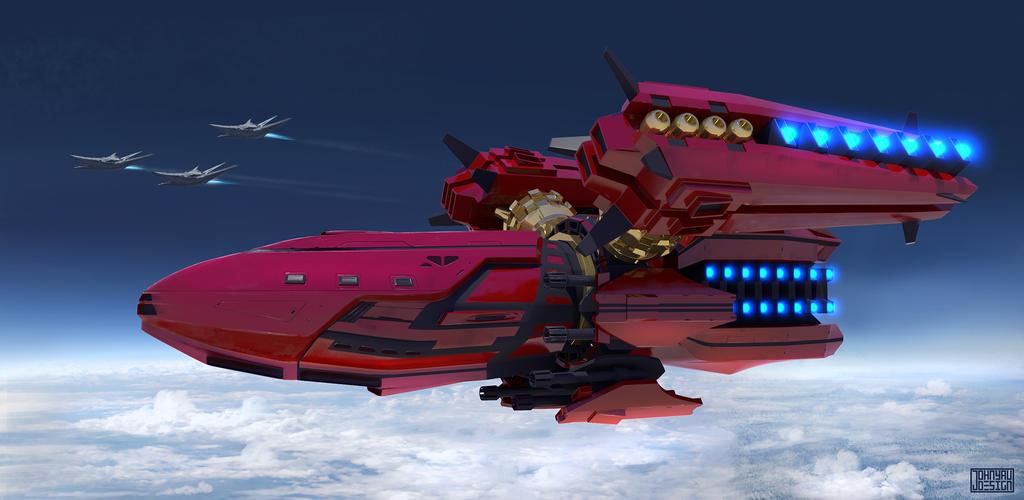 Big Red by JohnYauDesign