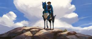 Art Station Wild West Challenge - Keyframe Concept