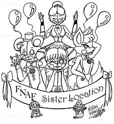(FNAF) Sister Location by 4REA