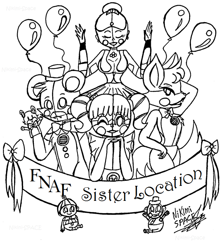 ballora coloring pages pictures to pin on pinterest