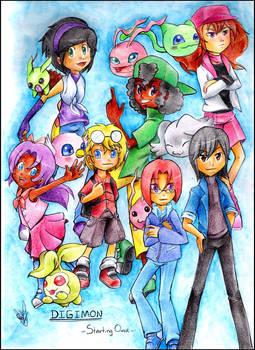 Digimon - Starting over -