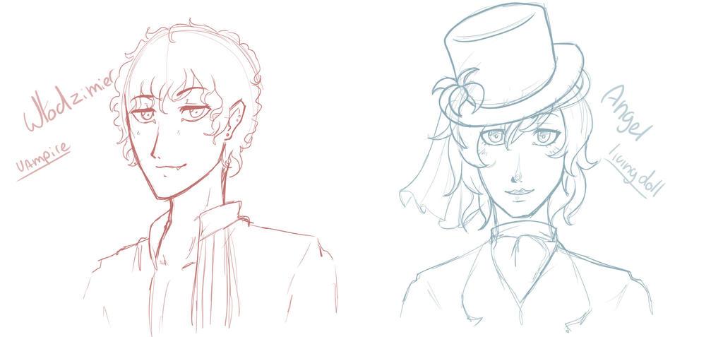 headschot sketches 3 by MangoGloor