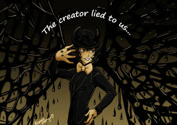 beware the enk demon by MangoGloor