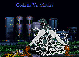 Godzilla Vs Mothra by echosnake