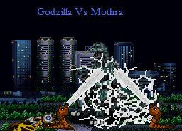 Godzilla Vs Mothra by echosnake
