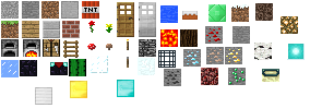 Minecraft Block Sprites by echosnake