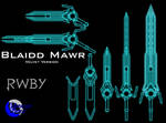 Blaidd Mawr - RWBY Weapon - Velvet Version