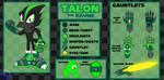 Talon the Raven - Design Update and Bio by Arkus0