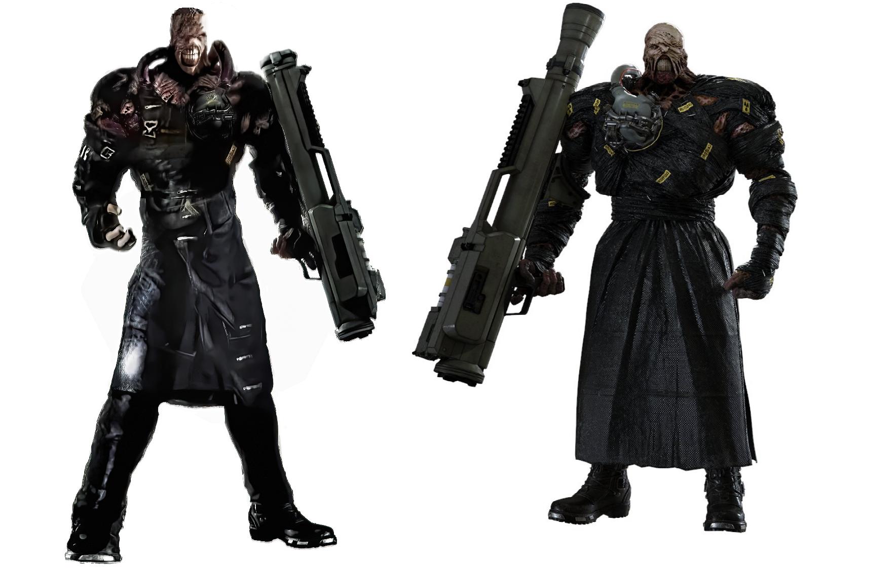 Resident Evil 3 Nemesis Remake Vidrax Concept By Jaoks On Deviantart