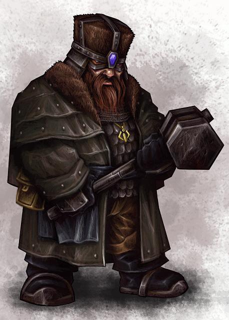 Dwarf Citadel Warrior II by Serg-Natos