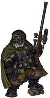 Dwarf Mercenary Sniper